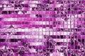 Spring pink pattern in squares mosaic