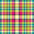 Spring plaid Stock Images