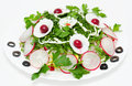 Spring radish salad Royalty Free Stock Photo