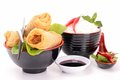Spring roll Royalty Free Stock Photo