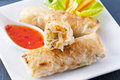 Spring rolls Royalty Free Stock Photo