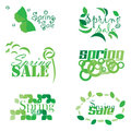 Spring sale an abstract illustration of design Royalty Free Stock Image