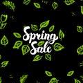 Spring Sale Postcard