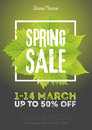 Spring Sale Poster Template Wi...