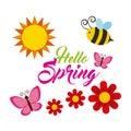 Spring season design