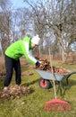 Spring season garden worker Royalty Free Stock Photos