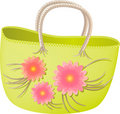 Spring shopper Stock Photo