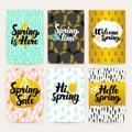 Spring Time Trendy Brochures