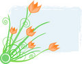 Spring tulip illustration Royalty Free Stock Photography
