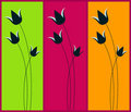 Spring web banners Stock Photo