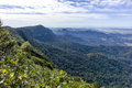 Springbrook national park view from the best of all lookout at australia Stock Photos