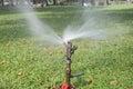 Springer faucets at chatuchak park in bangkok thailand Royalty Free Stock Image