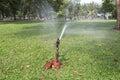 Springer faucets at chatuchak park in bangkok thailand Royalty Free Stock Photos