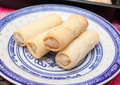 Springrolls Royalty Free Stock Photo