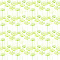 Springtime dandelion seamless pattern background Royalty Free Stock Image