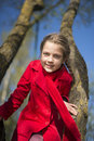 Springtime girl portrait Royalty Free Stock Photo