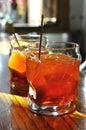 Spritz drink, traditional aperitif in Venice