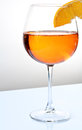Spritz glass Stock Photo