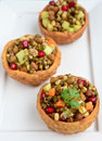 Sprouts chaat indian healthy snack Royalty Free Stock Image
