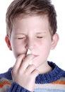 Spruzzo nasale Fotografia Stock Libera da Diritti