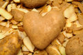 Spud of Hearts Royalty Free Stock Photo