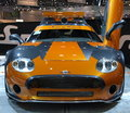 Spyker C8 at Geneva International Motor Show, 2010 Stock Photo