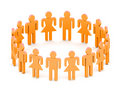 Squadra del Logotype Fotografia Stock