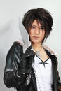 Squall Leonhart Cosplayer Royalty Free Stock Photo