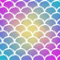 Fish scale and mermaid background