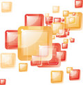 Square abstract background Royalty Free Stock Photos