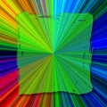 Square Abstract color background Royalty Free Stock Image