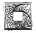 Square Abstract Design Royalty Free Stock Image