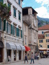Square of Arms, Kotor, Montenegro Royalty Free Stock Photo