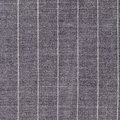 Square background from gray striped woolen fabric close up Stock Photography