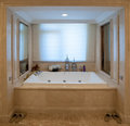 Square Bathtub Royalty Free Stock Photo