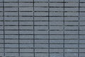 Square bricks wall in Cinereous color Royalty Free Stock Photo