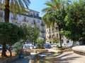 stock image of  A square in the city center of Palermo, Italy