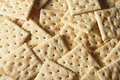 Square Crackers Royalty Free Stock Photo