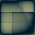 Square dark screen old background with grid Royalty Free Stock Images