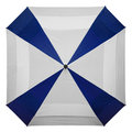 Square Double layer umbrella Royalty Free Stock Images