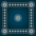 Square eastern pattern Royalty Free Stock Photo