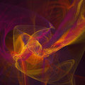 Square fractal background Royalty Free Stock Photo
