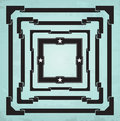 Square frames set of retro eps Royalty Free Stock Photo