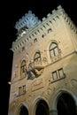 Square of freedom Republic of San Marino Royalty Free Stock Photo