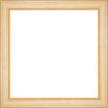 Square golden frame Stock Image