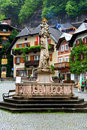Square Of The Hallstatt,Austria Royalty Free Stock Photography