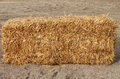 Square hay bale Royalty Free Stock Photo