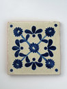 Square Mexican tile Stock Photo