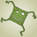 Square Monster Stock Photography
