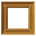 Square neoclassical frame Royalty Free Stock Photos